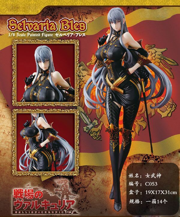 20cm Anime Valkyria Chronicles Selvaria Bles Figure 1/8 scale painted figure Sexy girl Selvaria Bles PVC figure Toy Brinquedos anime valkyria chronicles selvaria bles christmas style sexy girl model pvc action figure collection model toys christmas gift