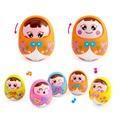 Baby Toys Brinquedos Bebe Matlyoshka Tumbler Doll Boneca Baby Rattles Gifts Cute Facial Expression Original Huile Toys Musical