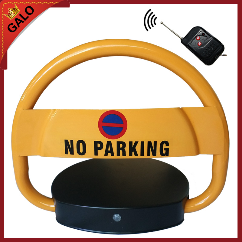 VIP Car Parking Equipment Using the remote control device prohibits parking barrier lockVIP Car Parking Equipment Using the remote control device prohibits parking barrier lock