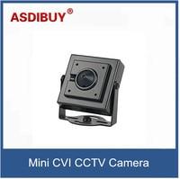 HD CVI 1080P 2 0mp 1 3 CMOS Mini Square Camera With Pinhole 3 7mm Len