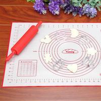 Силиконовый коврик для теста формы для выпечки 60*80 см/60*50 см печь для макаронов столовые приборы для пасты противень вкладыш подноса Мат тор...