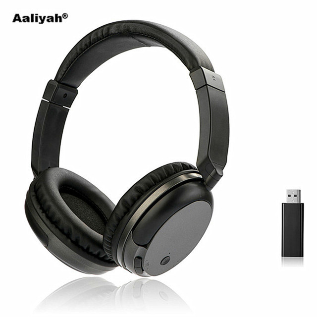 Aaliyah WS-3680 FM Senza Fili Cuffie Stereo Super Bass RF Ricevitore Con USB  Emettitore ca3a0de6deb8