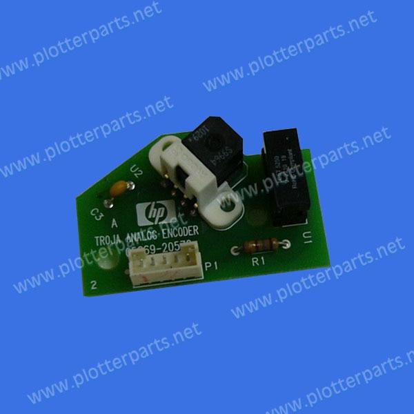 Q5669-60703 Encoder sensor assembly HP DesignJet T610 T1100 Z2100 Z3100 Z5200 Original used 033 0512 8 encoder disk encoder glass disk used in mfe0020b8se encoder