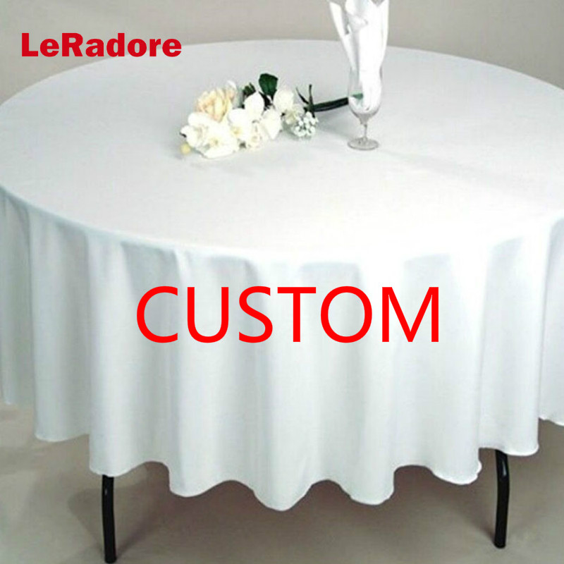 LeRadore Custom Hotel Wedding Party Table Cloth Turban Cloth Polyester Solid Rectangle Tablecloth Hotel Restaurant Table CoverLeRadore Custom Hotel Wedding Party Table Cloth Turban Cloth Polyester Solid Rectangle Tablecloth Hotel Restaurant Table Cover