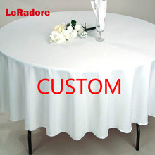 LeRadore заказной отель Свадебная вечеринка скатерти тюрбан ткань полиэстер однотонная прямоугольная скатерть отель скатерь для ресторанов