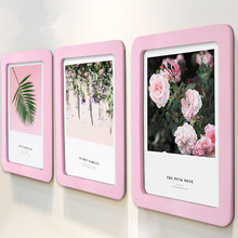 Creative photo frame Nail-free wall Self-Adhesive Magnetic Childrens picture decoration