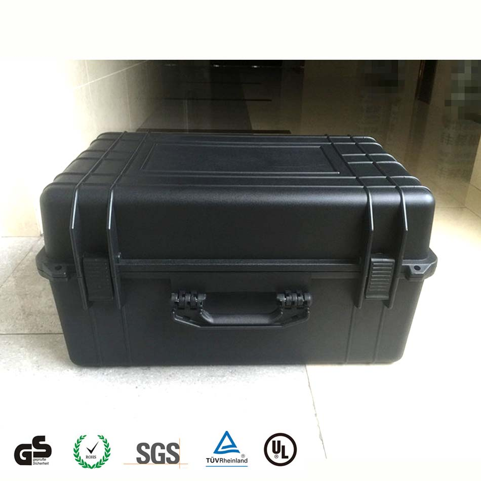 Large space durable hard plastic waterproof carrying case for Precision machinery