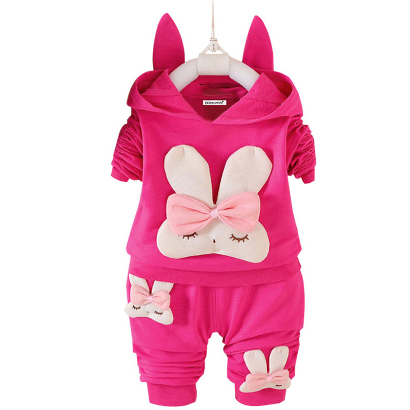 Newborn Clothes 2018 Autumn Winter Baby Girls Clothes Set T-Shirt+Pants 2pcs Set Baby Outfits Suit Infant Girls Clothing 2018 new baby clothing set baby girls clothes long sleeve t shirt pants 2pcs suit cotton baby girl newborn clothing set