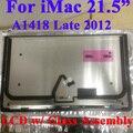 """Para iMac 21.5 """"pulgadas de PANTALLA LCD A1418 Tarde 2012 MD093 MD094 LM215WF3 LM215WF3-SDD1 Pantalla con el Conjunto De Vidrio 661-7109"""