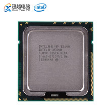 Intel Xeon E5640 Desktop Processor Quad-Core 2.66GHz L3 Cache 12MB 5.86 GT/s QPI LGA 1366 SLBVC 5640 Server Used CPU(China)