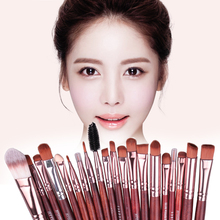 20pcs Fashion Soft Eye Makeup Brushes Set Cosmetic Eyeshadow Foundation Power Brush Eyeliner Brush Cosmetic Tools