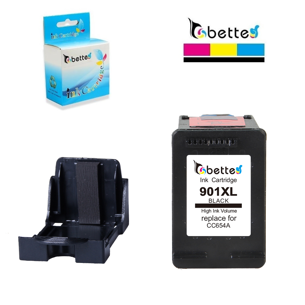 4PK Ink for HP 901XL CC654AN OfficeJet J4550 J4580 J4624 J4660 J4680 J4680c 4500