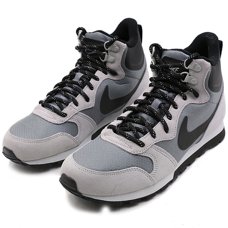 Original NIKE MD RUNNER 2 MID PREM Men's Running Shoes SneakersOutdoor Sports Designer Athletics Official High Top 844864 005