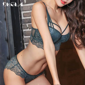 DKGEA Sexy Underwear Bra and Panty Sets Lace Lingerie Women 950ca55ad