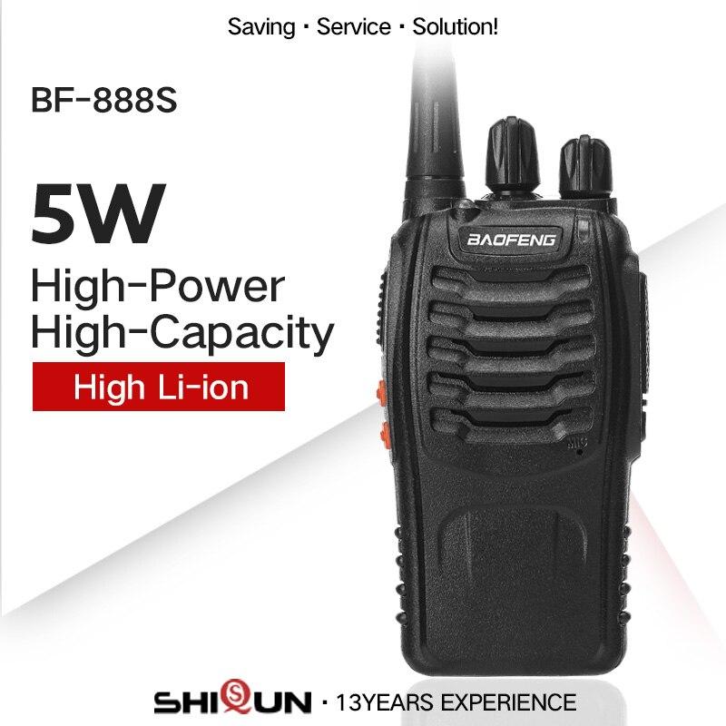 bilder für Baofeng BF-888S Single Band UHF 400-470 MHz Günstigste Zweiwegradio Baofeng BF 888 S Transceiver für Ham Hotel Fahrer BF888S Talkie