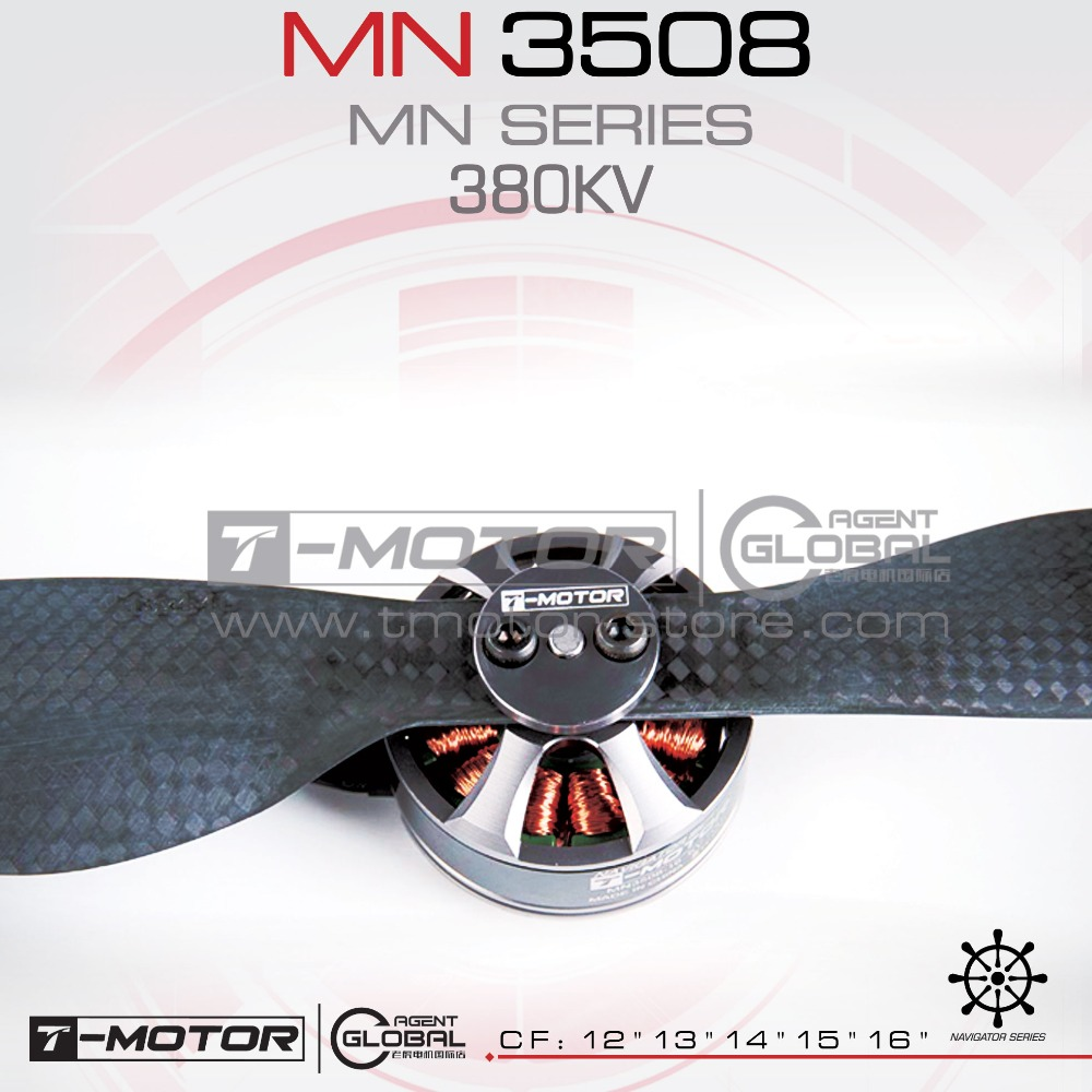 ФОТО RC engine MN3508 KV380 outrunner brushless motor T-MOTOR brand for multicopter