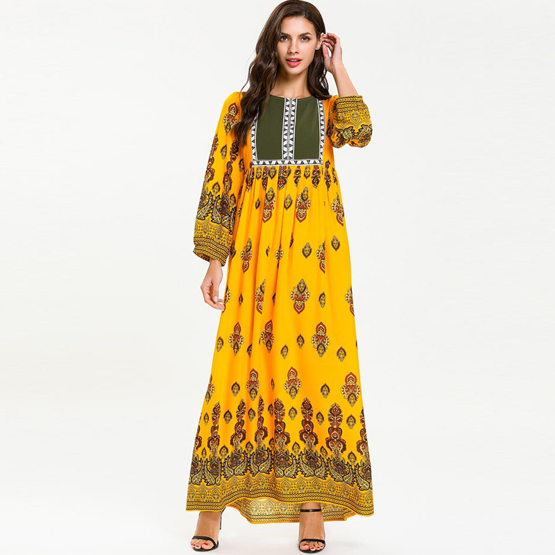 Abaya Robe Dubai Caftan Marocain Kaftan Muslim Hijab Dress Qatar Omani Abayas For Women Ramadan Elbise Turkey Islamic Clothing