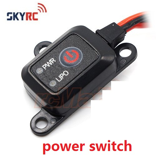 SKYRC interruptor de encendido/apagado MCU controlado LIPO NIMH RC coche helicóptero # SK-600054-02 por SkyRC