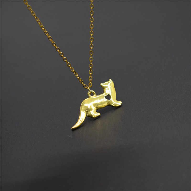 Elfin nouveau furet colliers et pendentifs Ferret bijoux pendentif à breloque collier