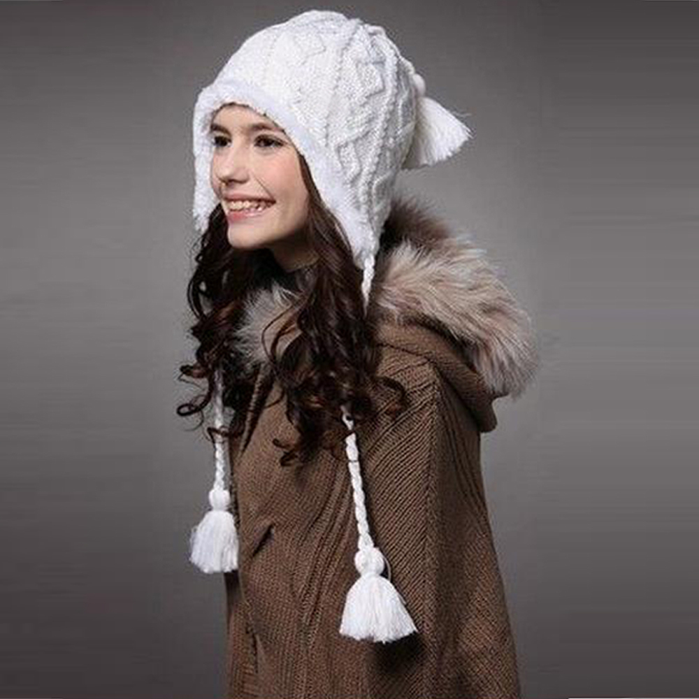 2015 new women hat winter beanies knitted hats for woman