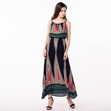 Таиланд платья Плюс Размеры женская одежда длинное летнее платье