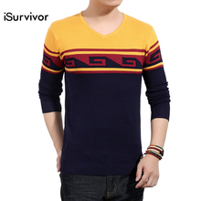 Top Quality Men Sweaters Brand 2016 Men's Fashion Pullovers Slim Fit, Casual Men Autumn & Winter Sweaters Plus Size M-5XL