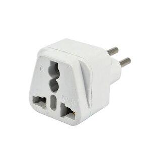 Image 2 - Universele 3pin Zwitserland Conversie Plug Adapter Uk/Us/Eu/Au 3 Pin Zwitserland Travel Plug Type J zwitserse Plug Converter Plug