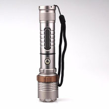 LED lamp Elfeland High Power Waterproof 8000Lm T6 LED Flashlight Torch Zoomable Tactical + 18650 Charger Box(China)