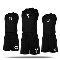 Men Basketball Jerseys Set Quick Dry Breathable Sports Shirt & Short Pants Plus Size Gym Training Jerseys Suits Sportswear