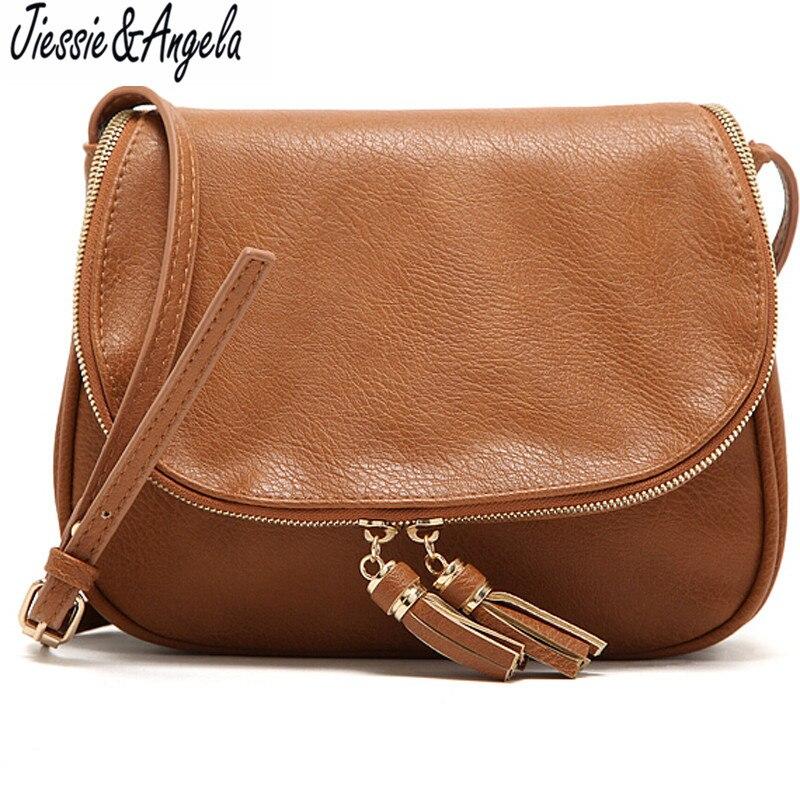 ac5f401fc4973 حار بيع شرابة المرأة حقيبة حقائب جلدية عبر الجسم حقائب الكتف أزياء رسول حقيبة  المرأة حقيبة bolsas femininas