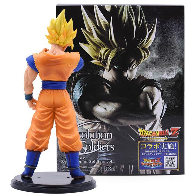 3 Pieces Dragon Ball Z Goku Action Figure PVC Collection