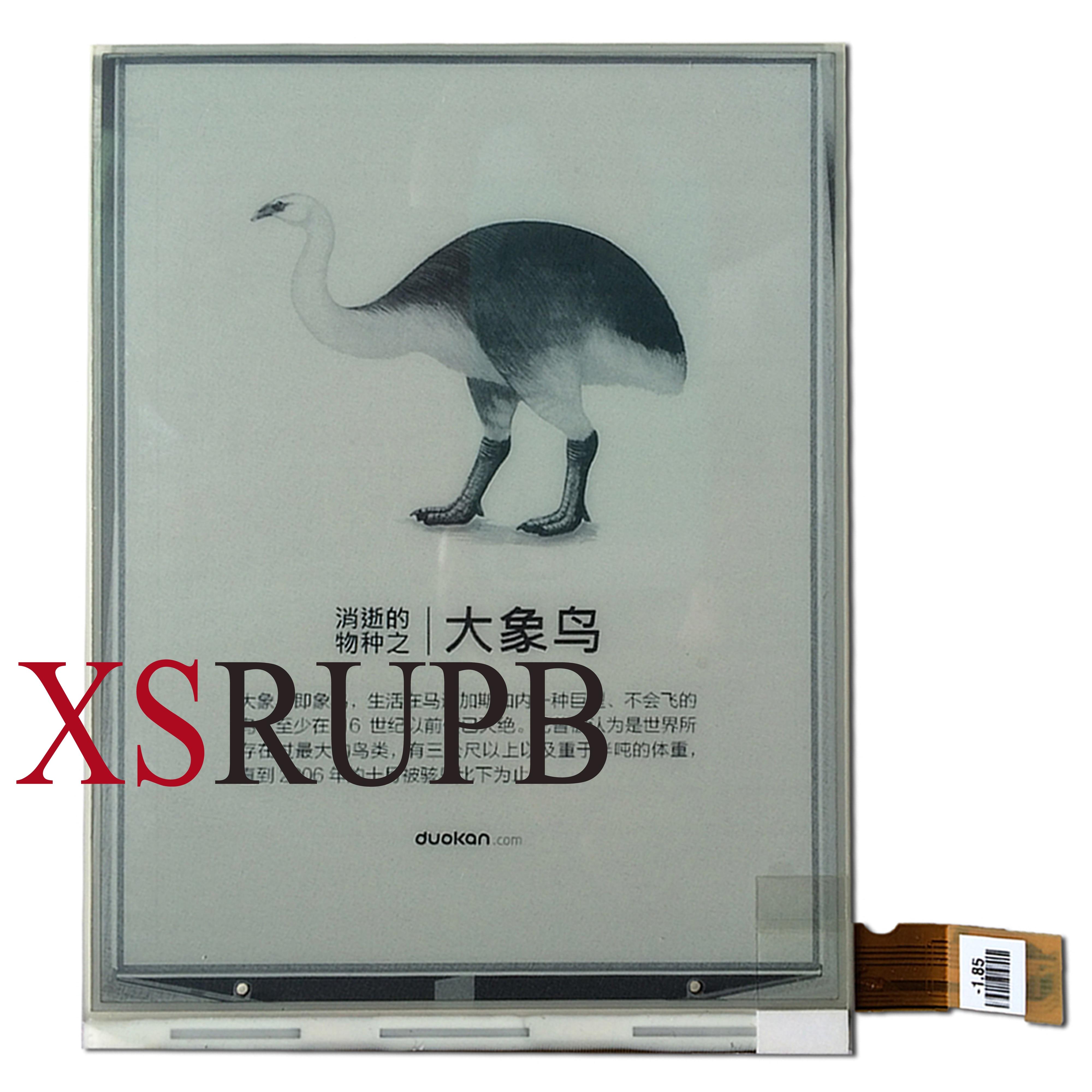 D'origine Affichage Eink pour Gmini Magicbook Z6 E-book eRader E-ink LCD Écran En Verre Panneau Ebook remplacement Réparation