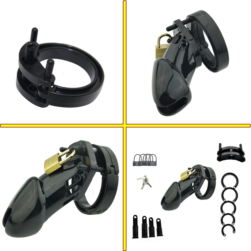 Erotic Accessories BDSM Bondage Fetish Penis Cage Male Chastity Belt Chastity Adult Sex Toys For Men Chastity Device Cock Lock