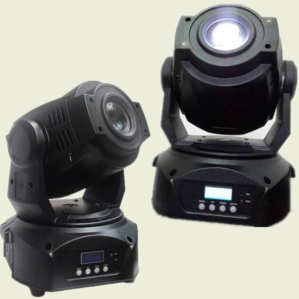 china supplier christmas light mini size 60w led moving head spot light gobo project powerful color