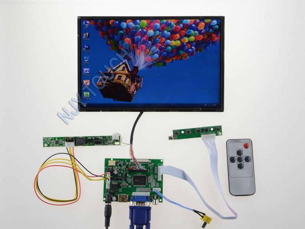HDMI VGA AV Remote LCD Controller Driver Board Plus B101UAN02.1 1920x1200 PanelHDMI VGA AV Remote LCD Controller Driver Board Plus B101UAN02.1 1920x1200 Panel