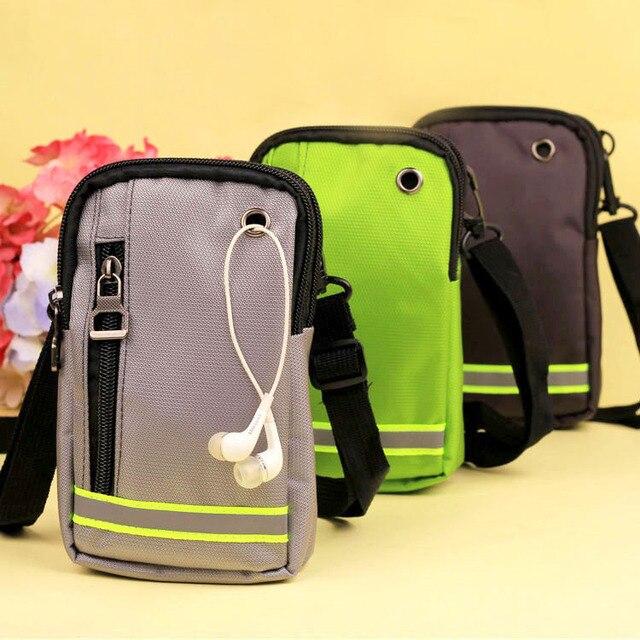 Универсальный Спорт на открытом воздухе, телефонная сумка для iPhone samsung S9 S8 S6 Edge Plus NOTE 3 чехол для телефона поясная Сумка Чехол-бумажник для iPhone 6, 7, 8, 8 P сумка