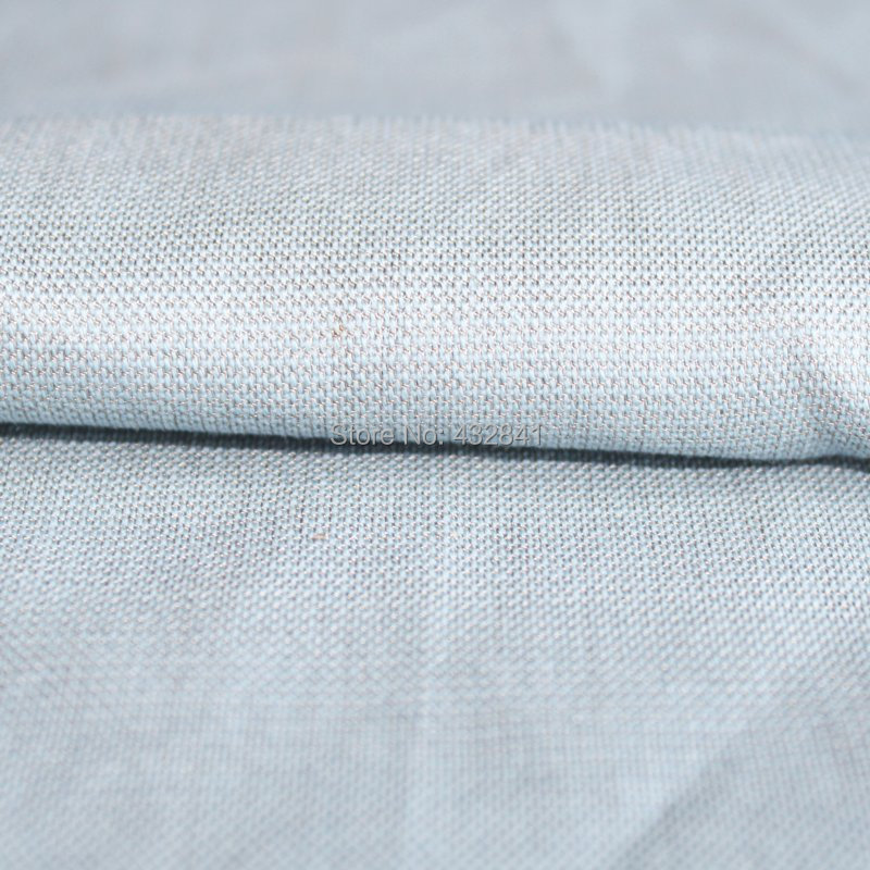 EMI zaščitna tkanina iz srebrnega vlakna Protiradiatorska tkanina Prožitna tkanina, srebro 4 #