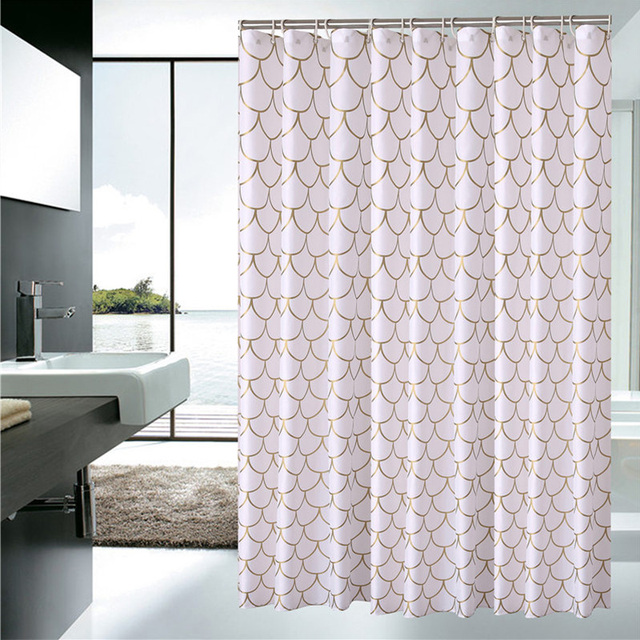 European Shower Curtain Pattern Bath Screens Polyester Waterproof YouTube Recommend Curtains In The Bathroom