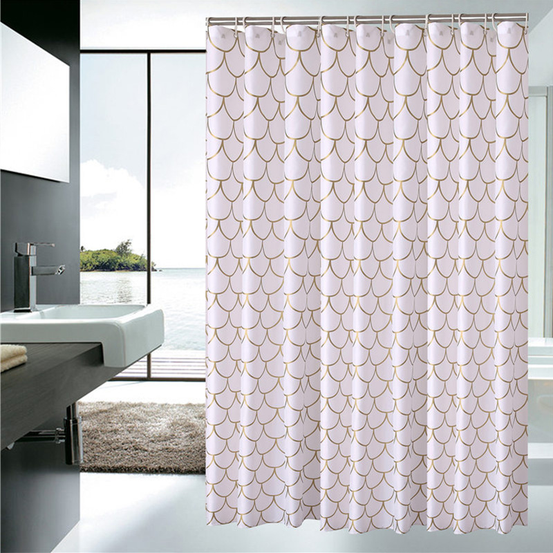 European Shower Curtain Pattern Bath Screens Polyester Waterproof Shower  Curtain YouTube Recommend Curtains In The Bathroom