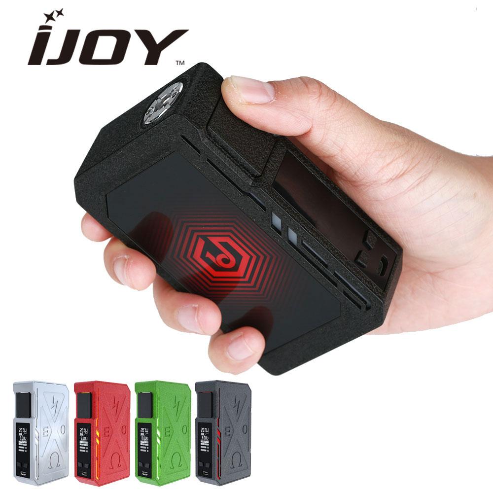 Оригинал IJOY EXO PD270 207 Вт 20700 коробка mod RGB подсветкой уникальный морщин отделка электронной сигареты VAPE EXO PD270 mod без батареи
