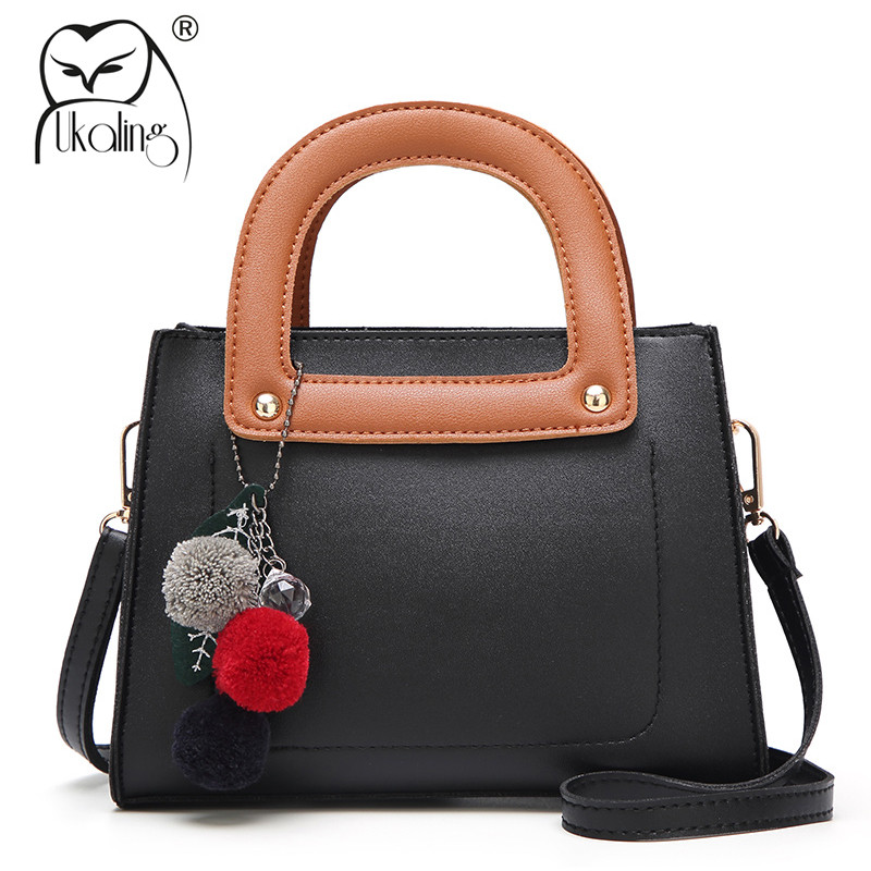UKQLING Famous Brand Handbag Designer Women Small Tote Bag Shoulder Clutch Purse Ladies Sac a Main Messenger Bags Long Strap