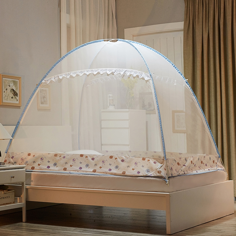 Mongolian yurt mosquito net camping travel tent mosquito - Bed canopies for adults ...