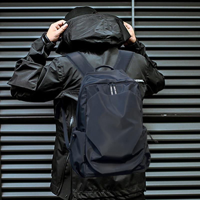 Men Backpack Bag Rucksack Usb-Charge Water-Proof School Fashion External