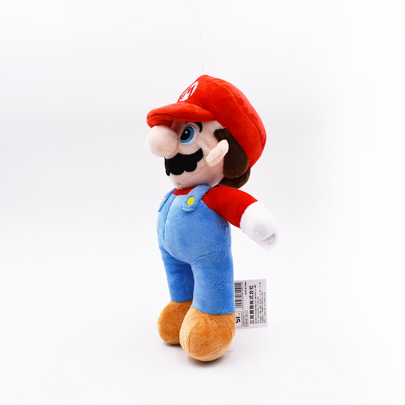 10inch 25cm Super Mario Plush Toy Mario Soft Stuffed Doll With Tag Free Shipping 2