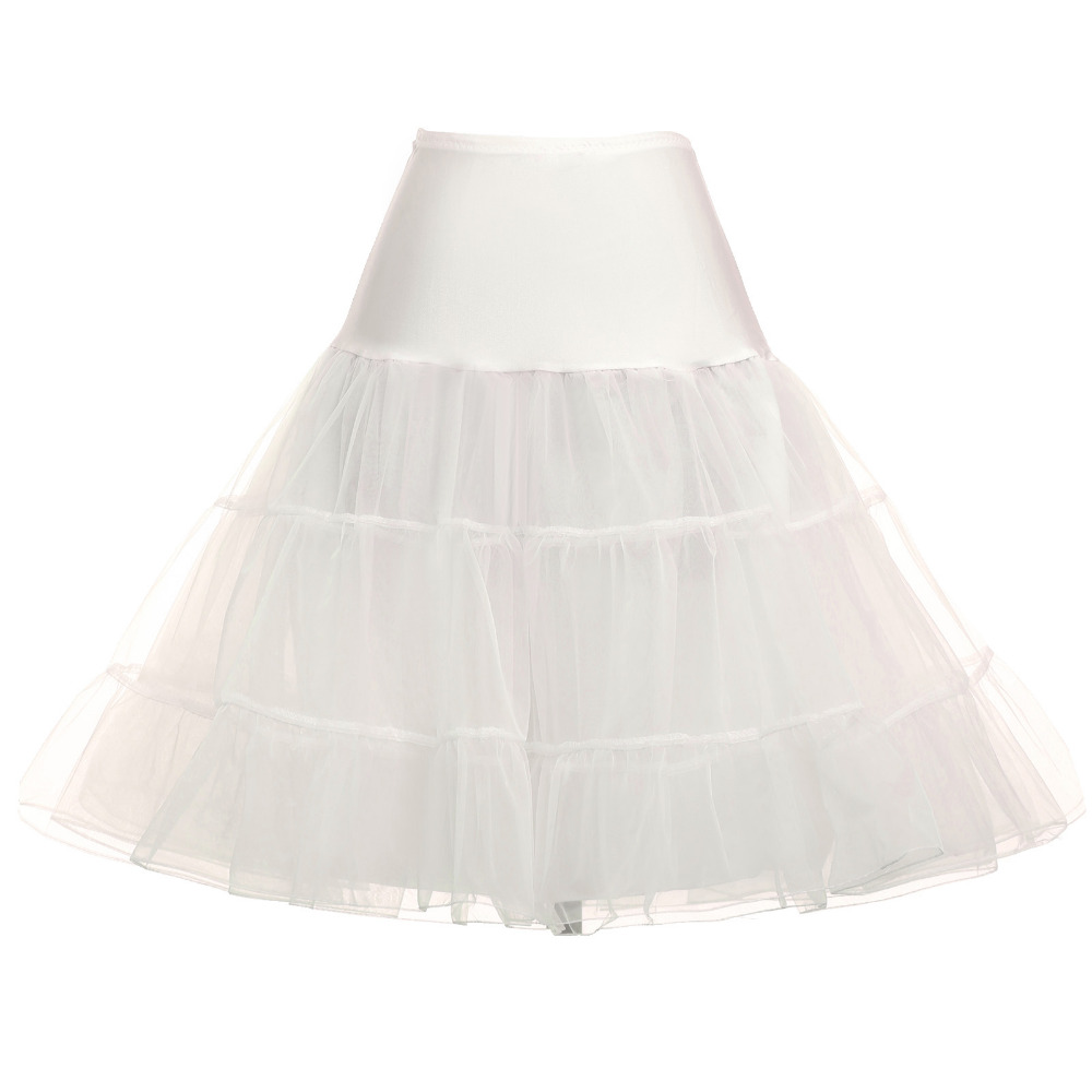 Wedding Petticoat 3 Layers Puffy Organza Wedding Dress Underskirt