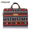 MOSISO Brand Bohemian Canvas Laptop Hand Bag  Briefcase Cover 11 13 14 15 15.6inch Sleeve For Macbook Air/Pro Notebook Bag Case