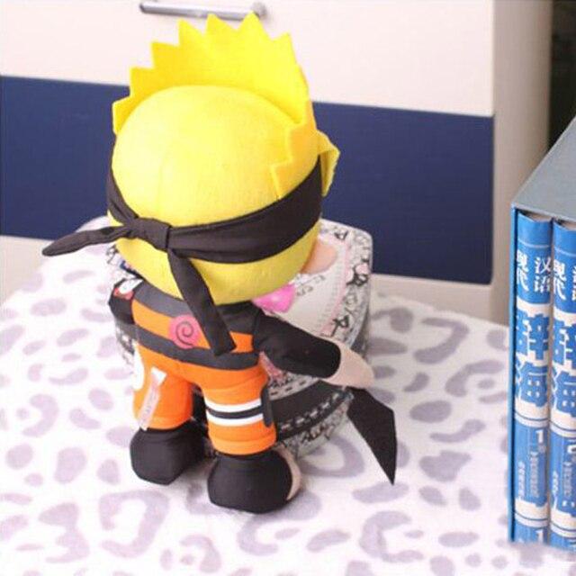 Плюшевая аниме игрушка Наруто с кунаем 30 см 2