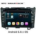 2 din Android 6.0.1 dvd-плеер автомобиля GPS навигация для Honda CR-V 2006-2011 Quad Core 8 дюймов 1024*600 экран автомобиля стерео радио
