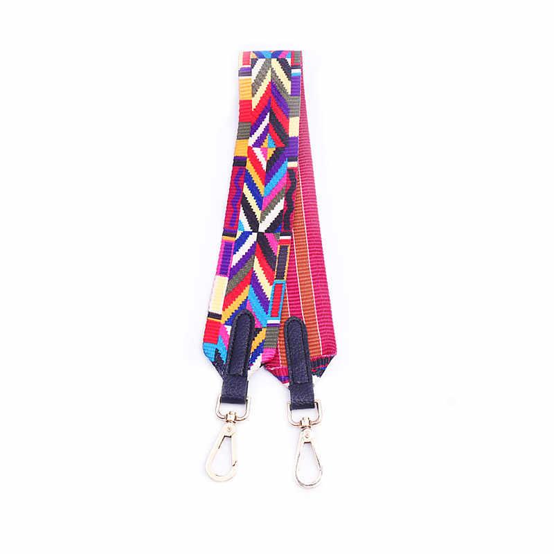 SWDF Женская сумка Аксессуары ручки сумки ремень плечо Радужный цвет сумки ремень через плечо сумка-мессенджер ремень Misterolina