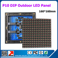DIY LED Outdoor P10 Full Color LED Display Module 160*160MM 36pcs + 1video card Z8 + 6pcs power supply 1SQM.LED VIDEO WALL P10